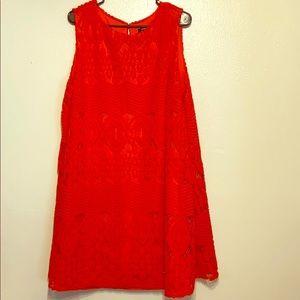 Orange Dress, Size 18W